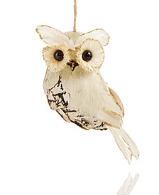Holiday Lane Owl Ornament, Created for Macy's
