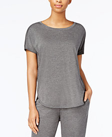 Alfani Super Soft Pajama Top, Created for Macy's