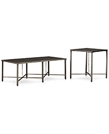 CLOSEOUT! Grayson Table Furniture Set, 2-Pc. Set (Coffee Table & End Table)