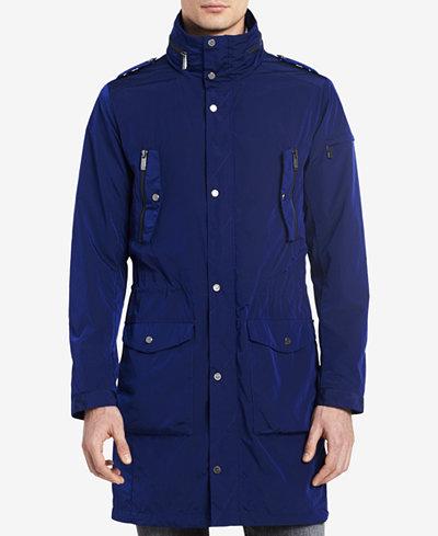 Calvin Klein Men's Four-Pocket Lightweight Parka - Coats & Jackets ...