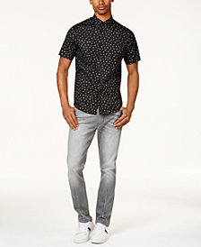 Sean John Men's Printed Shirt & Mercer Slim-Straight Jeans