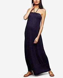 Ella Moss Maternity Halter Maxi Dress