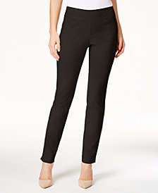 Charter Club Petite Slim-Leg Pants, Created For Macy's