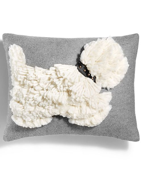 Martha Stewart Collection StandOut Scottie 40 X 40 Decorative Inspiration Martha Stewart Collection Bedding Dogs Decorative Pillows