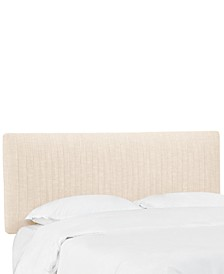 Layla Queen Pleated Headboard, Quick Ship