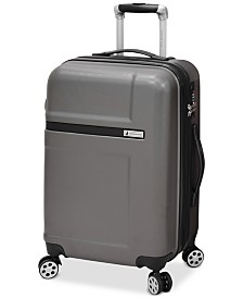 "CLOSEOUT! London Fog Southbury 21"" Hardside Expandable Spinner Carry-on Suitcase, Created for Macy's"