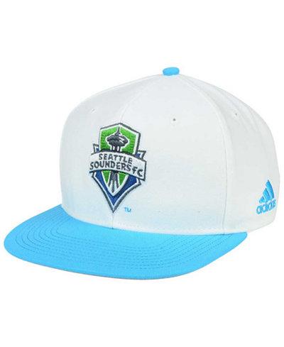 adidas Seattle Sounders FC Jersey Snapback Cap