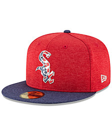 New Era Boys' Chicago White Sox Stars & Stripes 59FIFTY Cap