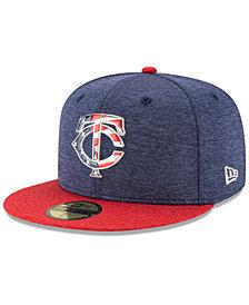 New Era Boys' Minnesota Twins Stars & Stripes 59FIFTY Cap