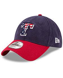 New Era Texas Rangers Stars & Stripes 9TWENTY Strapback Cap