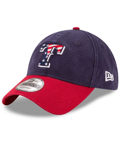 7ad2a7e6eb848 New Era. Texas Rangers Stars   Stripes 9TWENTY Strapback Cap. Be the first  to Write a Review. main image ...