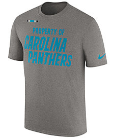 Nike Men's Carolina Panthers Property of Facility T-Shirt