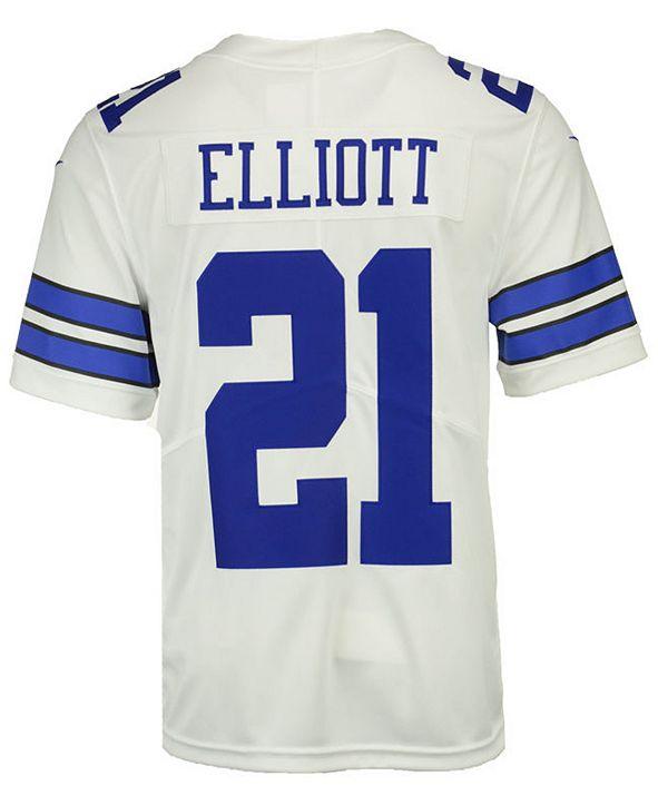Nike Men's Ezekiel Elliott Dallas Cowboys Vapor Untouchable Limited Jersey