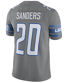 Nike Men's Barry Sanders Detroit Lions Limited Color Rush Jersey