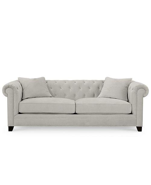 Pleasing Saybridge 92 Fabric Sofa Created For Macys Customarchery Wood Chair Design Ideas Customarcherynet