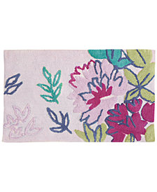 "bluebellgray Ines 21"" x 34"" Cotton Bath Rug"