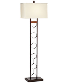 Kathy Ireland Home by Pacific Coast California Craft Floor Lamp