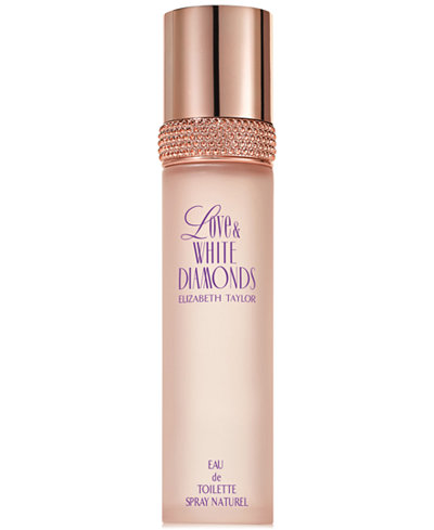 Elizabeth Taylor Love & White Diamonds Eau de Toilette Spray, 3.3 oz.