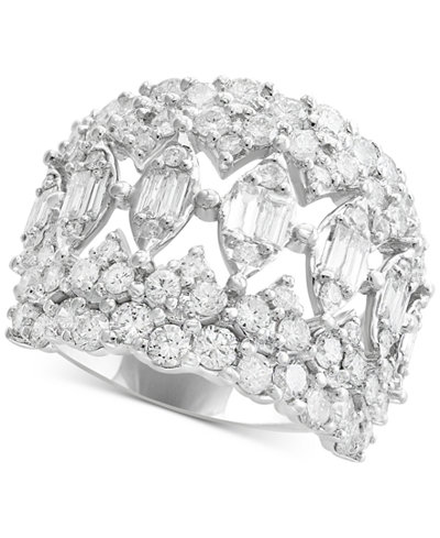Rock Candy by EFFY® Diamond Cluster Statement Ring (2-5/8 ct. t.w.) in 14k White Gold