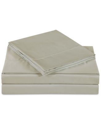 Ultra Cotton Sateen 610 Thread Count Solid Pair of Standard Pillowcases
