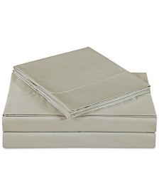 Charisma Ultra Cotton Sateen 610 Thread Count Solid Pair of Standard Pillowcases
