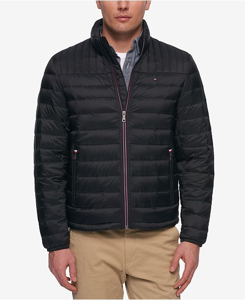 8710bdabbae ... Puffer Coat  Tommy Hilfiger Men s Big   Tall Packable Puffer ...