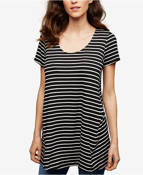 A Pea in the Pod Nursing Striped Top