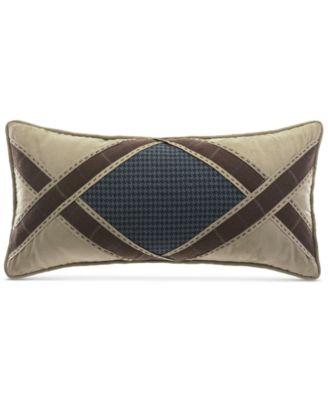 """Clairmont Aztec 22"""" x 11"""" Boudoir Decorative Pillow"""