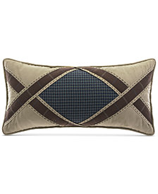 "CLOSEOUT! Croscill Clairmont Aztec 22"" x 11"" Boudoir Decorative Pillow"