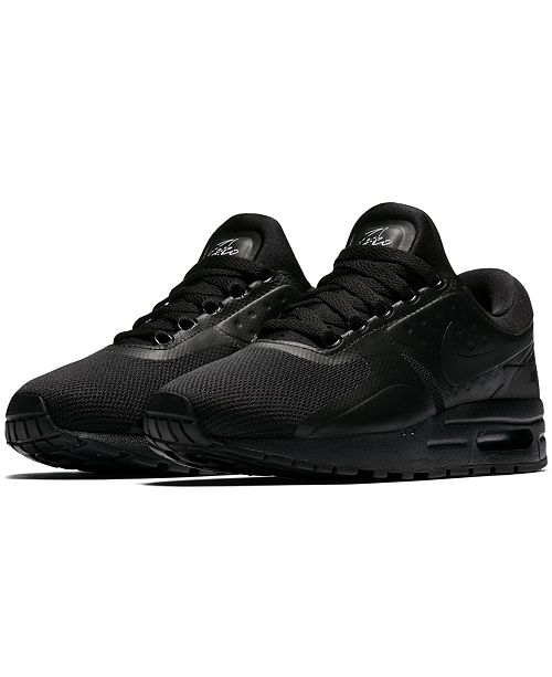 finest selection 50753 242e4 Nike Big Boys' Air Max Zero Essential Running Sneakers from ...