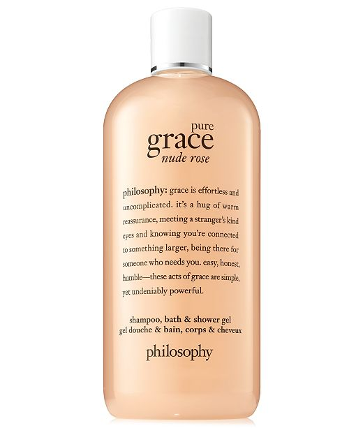philosophy Pure Grace Nude Rose Shower Gel, 16-oz.
