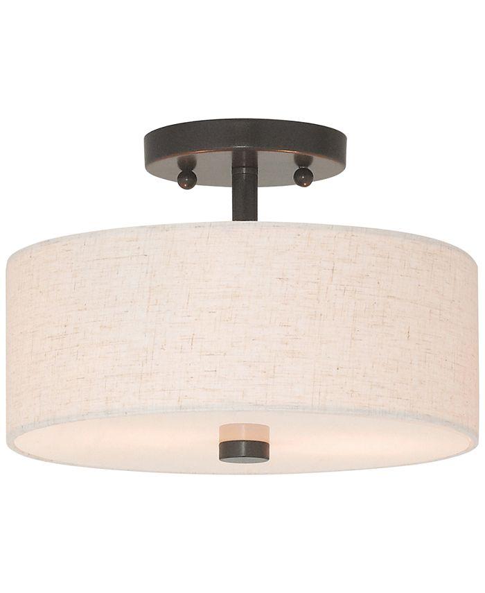 Livex - Meridian Semi Flush Light