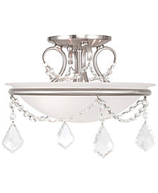 Livex Pennington Semi-Flush Chandelier