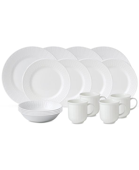 Wedgwood Nantucket Basket 16-Pc. Set, Service for 4