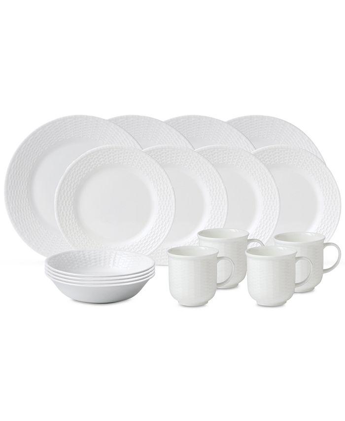 Wedgwood - Dinnerware, Nantucket Basket 16-Pc. Set, Service for 4