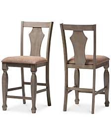 Arianna Counter Stool (Set Of 2), Quick Ship