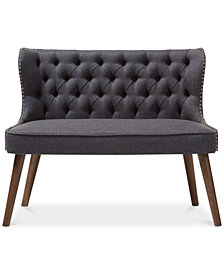 Scarlett 2-Seater Loveseat Settee, Quick Ship