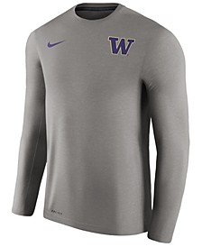 Men's Washington Huskies Dri-Fit Touch Longsleeve T-Shirt
