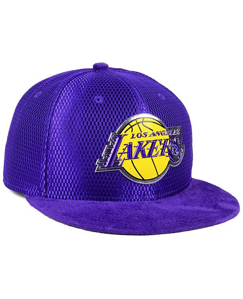 100% authentic 8056d 754c6 ... New Era Los Angeles Lakers On-Court Collection Draft 59FIFTY Fitted Cap  ...