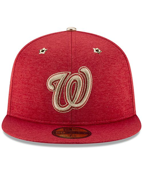 on sale 02aef 3595a ... New Era Boys  Washington Nationals 2017 All Star Game Patch 59FIFTY  Fitted ...