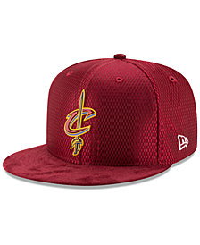 New Era Cleveland Cavaliers On-Court Collection Draft 9FIFTY Snapback Cap