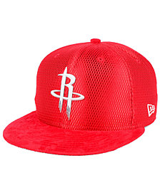 New Era Houston Rockets On-Court Collection Draft 9FIFTY Snapback Cap