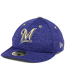 New Era Milwaukee Brewers 2017 All Star Game Patch Low Profile 59FIFTY Fitted Cap