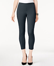 Alfani Petite Pull-On Cropped Skinny Pants, Created for Macy's