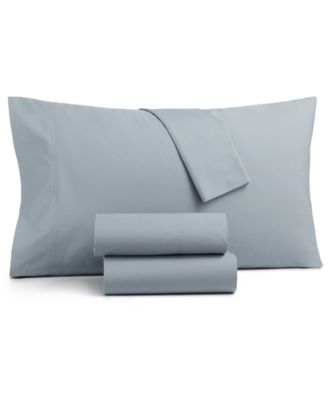 CLOSEOUT! Sleep Soft 3-Pc Twin Sheet Set, 300-Thread Count 100% Cotton, Created for Macy's