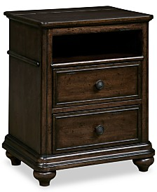 Lucas Kids Power Outlet Station Nightstand