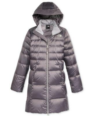 the north face elisa down hooded puffer jacket little girls big rh macys com