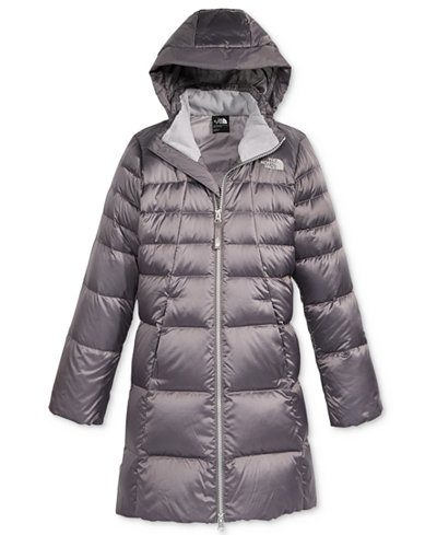 The North Face Elisa Down Hooded Puffer Jacket, Little Girls (4-6X ...