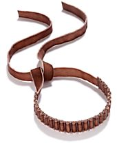Anna Sui x I.N.C. Beaded Velvet Choker Necklace, Created for Macy's
