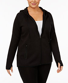 Ideology Plus Size Hoodie, Created for Macy's